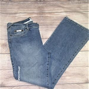 Baby Phat distressed jeans D-22